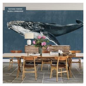 El catalogo de Naturae 🦚 de @coordonne nos trae toda la fauna salvaje a las paredes de nuestro comedor, desde el fondo marino hasta las profundidades de la selva.  ¿Te imaginas esta imponente ballena jorobada en su salón?🐋  📍https://cutt.ly/AbdtMBM 📍https://cutt.ly/xbdrOVM  #PapelesDecorativos #papelespintados #muraldecorativo #hogar #decoracion #diy #decoracionpared #homedecor #Naturae #JoanaSantamans #Illustration