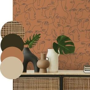 Seguimos con inspiración en tonos tierra y es que parece que tras el verde de moda en este 2021, empieza a asomar con timidez un mostaza o caramelo subidos.  🍁¡A nosotros nos encanta para dar a bienvenida al otoño!🍂  #papelpintado #wallpaperdesign #papelesdecorativos #wallpaperinspo #decoration #inspo #home #walldecor #interiordesign #interiorismo #decoracion #papelpintado #wallpaper #papierpeint #wallcovering #deco #decoraciondeinteriores #instadeco #homedecor #homedesign #passiondeco #decoaddict