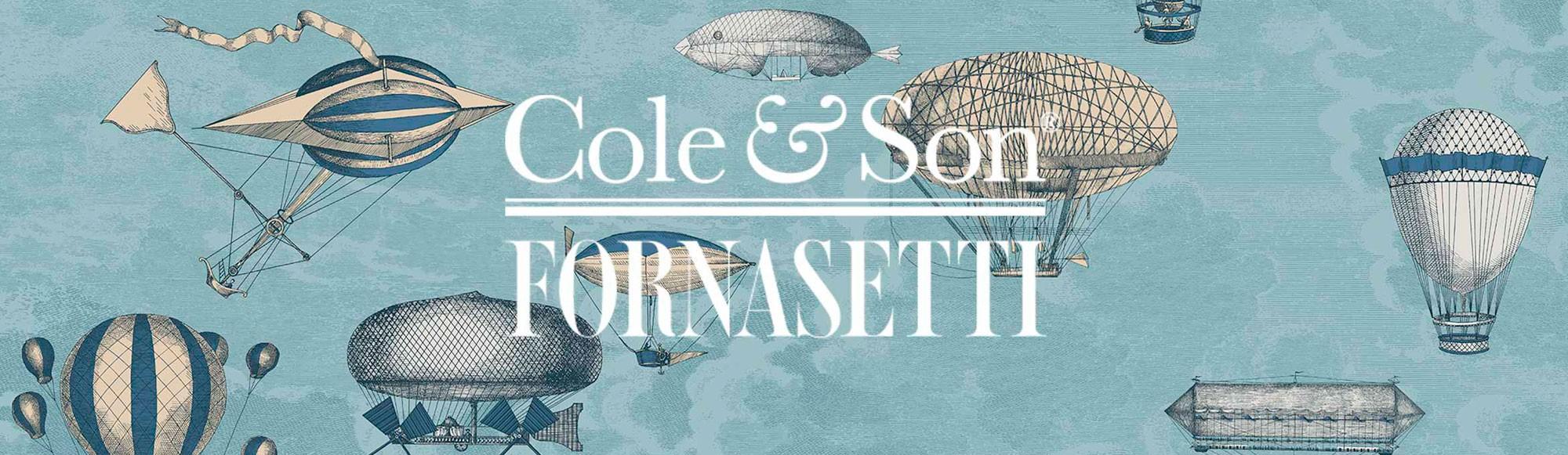 Papeles pintados Fornasetti II de Cole & Son