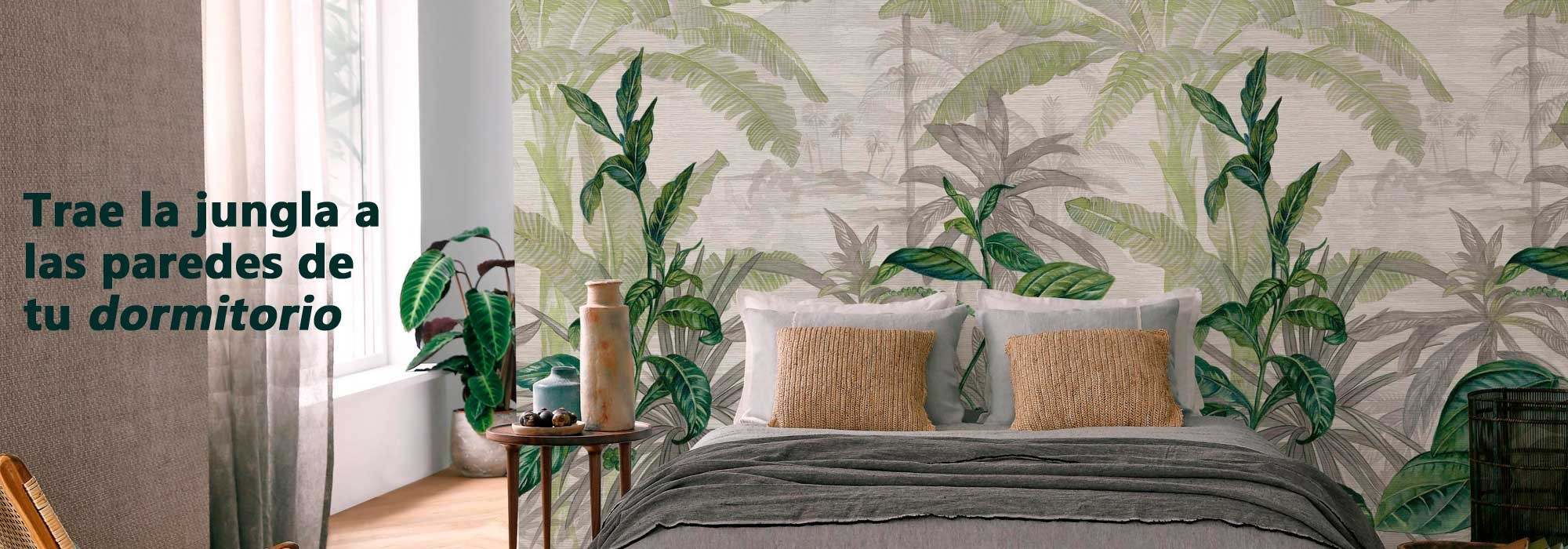 Murales Decorativos Vegetales, Florales, Tropicales