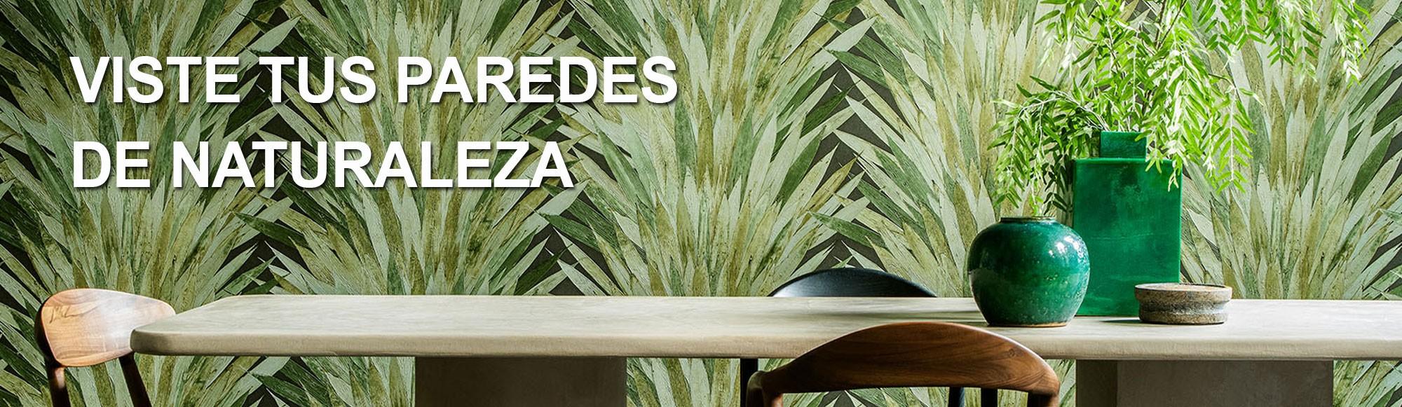Viste tus paredes de naturaleza con la colección Selva de Arte en Papeles Pintados Decorativos