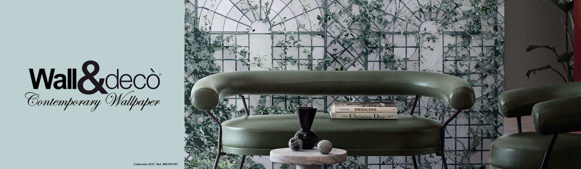 Wall & Deco papeles pintados murales en papeles decorativos