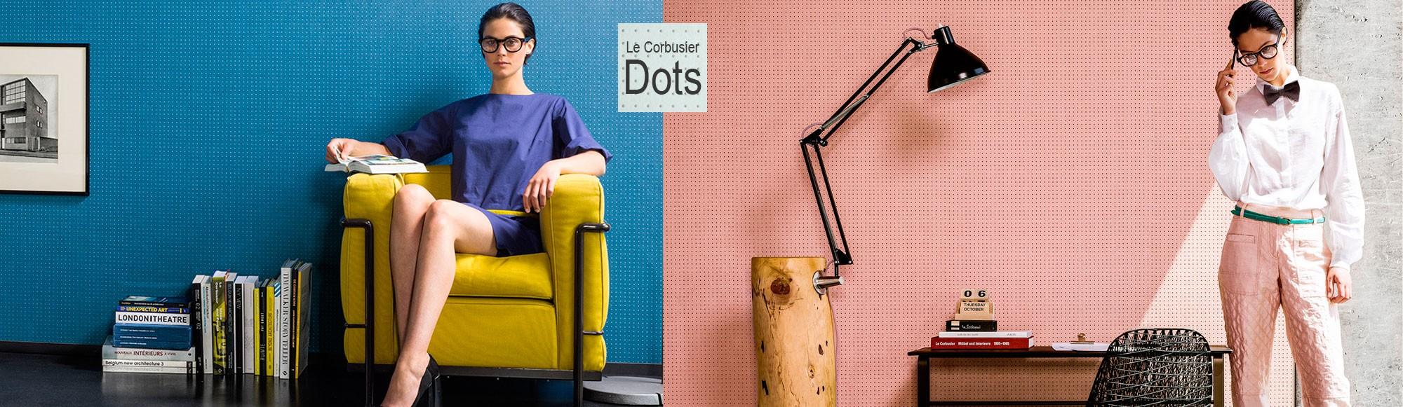 Revestimientos murales Dots de Le Corbusier