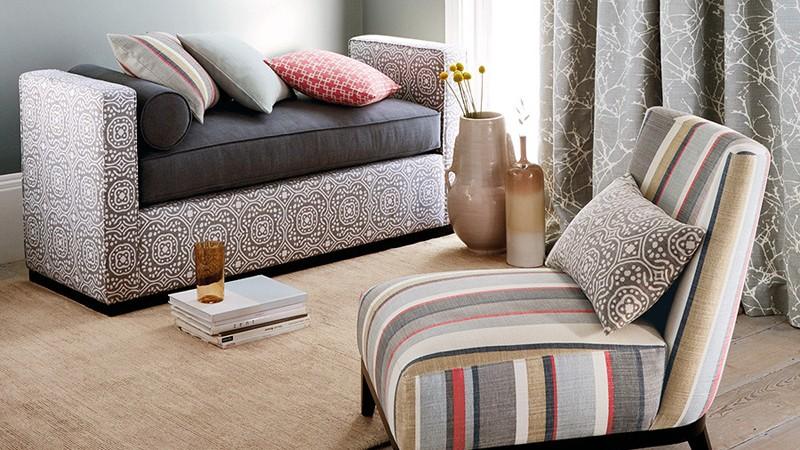 Colección textil Cubis de Romo